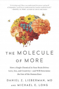 Romantic love is discussed in the Molecule of More